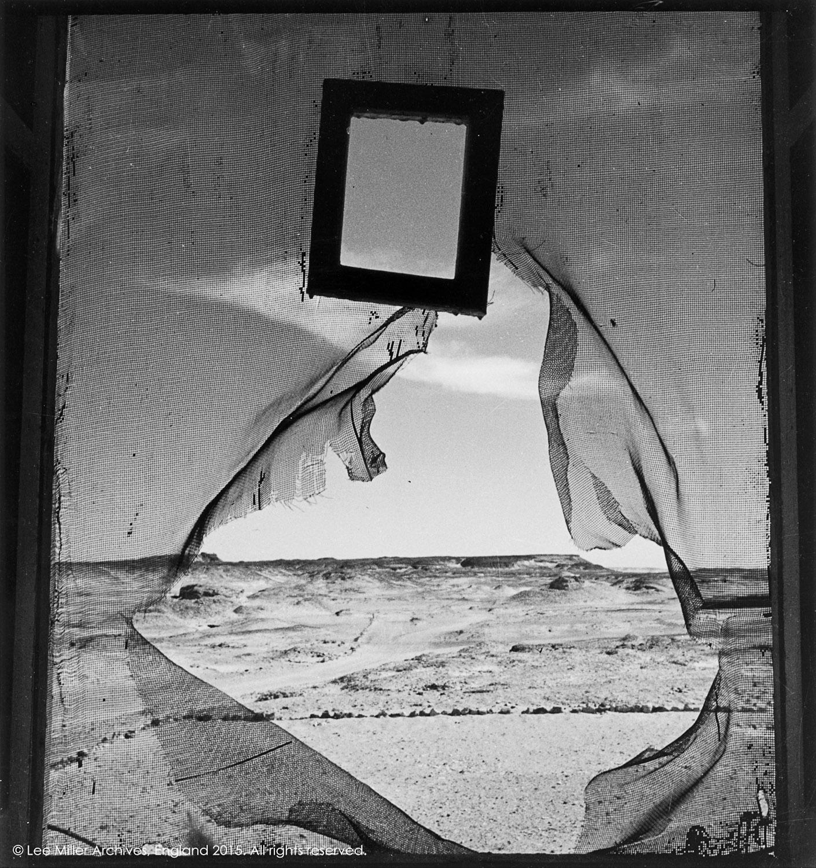 Retrato del espacio. Siwa, Egipto, 1937 © Lee Miller Archives, Inglaterra 2015. todos los derechos reservados