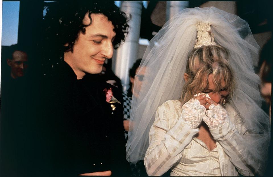 © Nan Goldin. La boda de cookie y Vittorio. New York City, 1986.